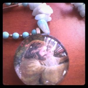 Jewelry - Jesus and little you necklace